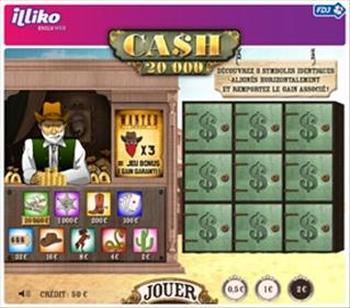 Cash 20 000