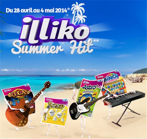 Jeu promotionnel Illiko Summer Hit